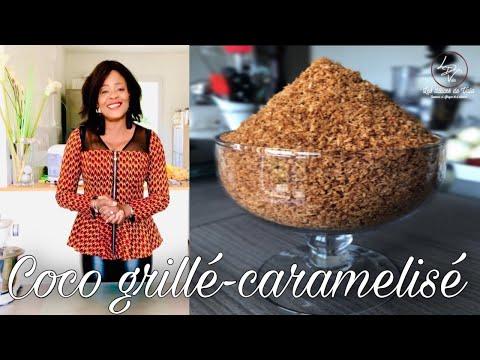 comment-faire-du-coco-grillé-caramélisé-/-how-to-make-roasted-caramelized-coconut