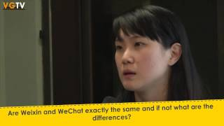 Q2   Are Weixin and WeChat exactly the same and if not what are the differences