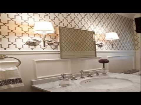 Bathroom Designs With Wallpaper