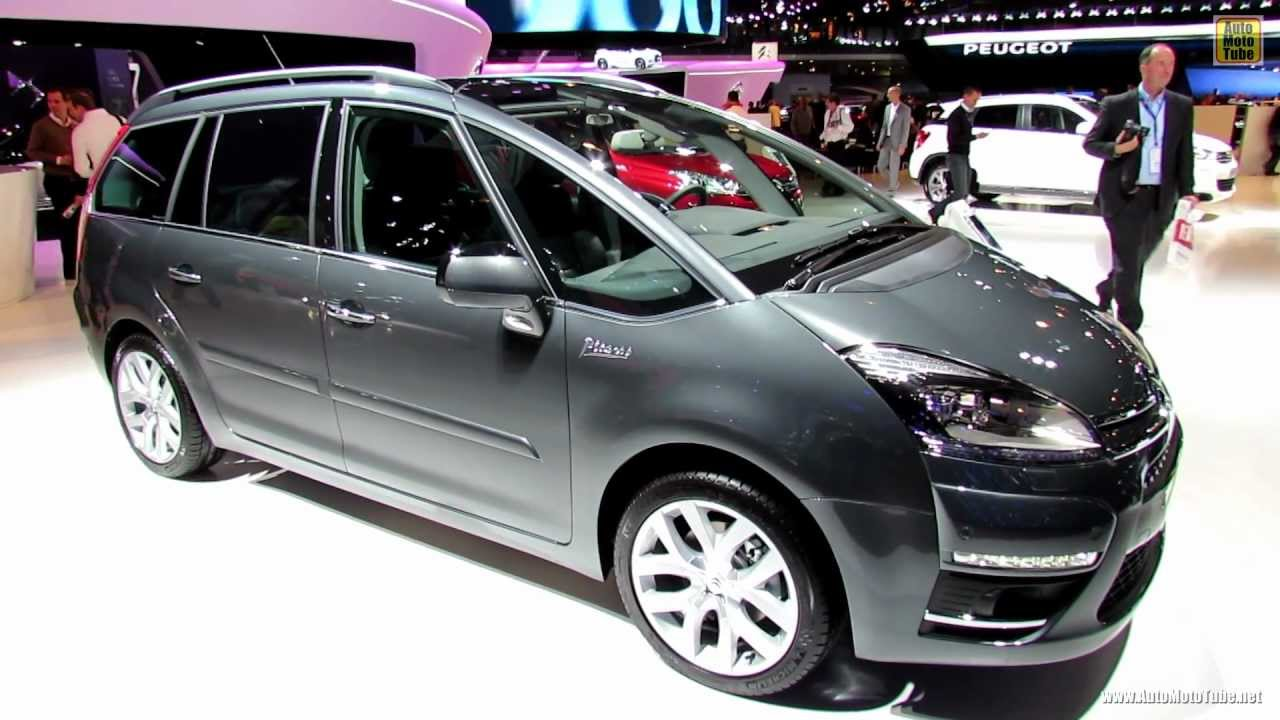 2012 citroen c4 picasso exterior and interior walkaround 2012 paris auto show youtube. Black Bedroom Furniture Sets. Home Design Ideas