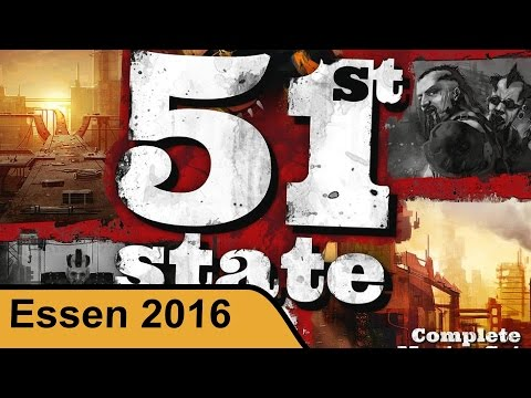 51st State Master Set - Neuroshima Hex - Essen 2016 live