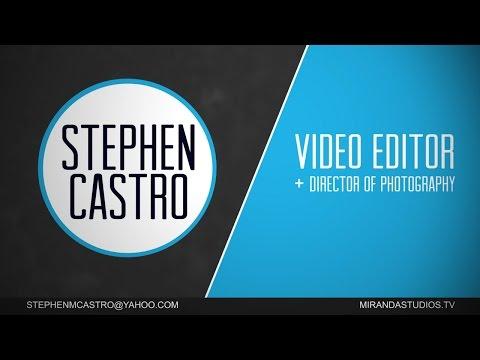 Stephen Castro 2015 Reel