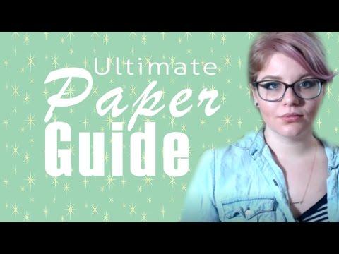 Ultimate Paper Guide Part 1- Rives BFK Watercolor Bristol