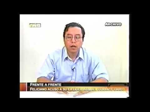 Feliciano arremetió contra Abimael Guzmán a quien odia por el acuerdo de paz con Fujimori