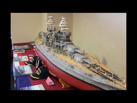 USS Arizona 1/72 scale - (scratch built) by Jozef Szydlowski