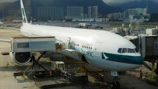 cathay pacific boeing 777 300er business class hong kong to beijing first class lounge