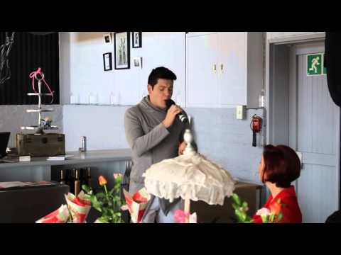The Voice contestant Johan Anker shows off his opera skills when he beautifully sings