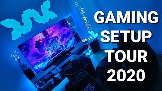 Gaming Setup / Room Tour 2020! Ultimate Setup With Gaming Pc / Xbox One X / Playstation 4