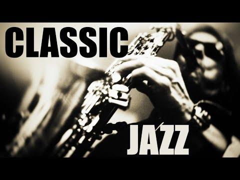 Classics Jazz Standards • Soft Jazz Saxophone Instrumental Music For Relaxing, Dinner, Study