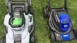 Kobalt vs EGO Electric Mower Showdown!