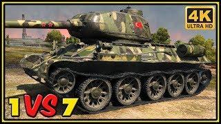 T-34-85M - 11 Kills - World of Tanks Gameplay - 4K Video