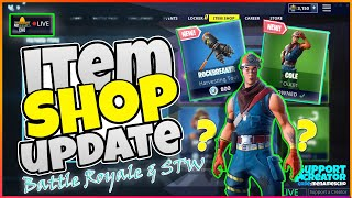 🆕MenamesCho's LIVE 👷 COLE SKIN 👷 ITEM SHOP UPDATE 💫 Fortnite Battle Royale - 5th / 6th May 2019