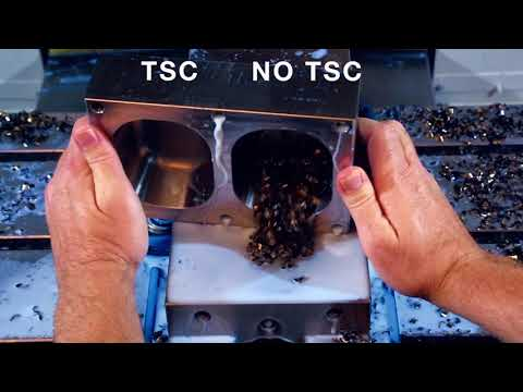 Through Spindle Coolant (TSC) for Haas Milling Machines - Haas Automation