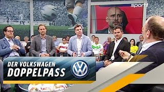 Hitzige Diskussion um Pep Guardiola | SPORT1 DOPPELPASS
