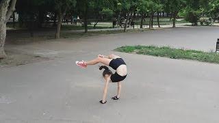 My morning training (Polina Vursii)/ Моя утренняя тренировка (Полина Вурсий)