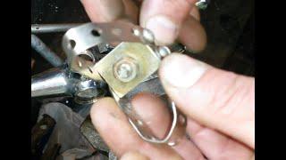 Как снять прикипевшую ручку барашек вентиль смесителя.