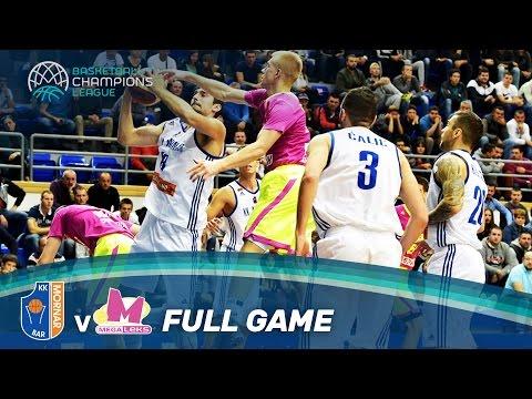 KK Mornar v Mega Leks - Full Game - Basketball Champions League