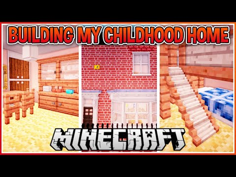 I Built My Childhood Home in Crazy Detail! ft My Sister!!