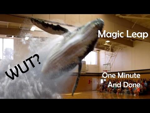 Magic Leap - one minute IDEA review