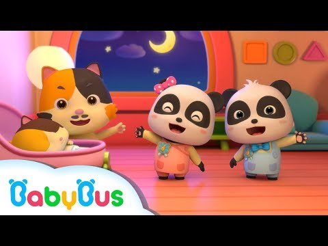 Little Panda BabySitter | Nursery Rhymes | Kids Songs | BabyBus