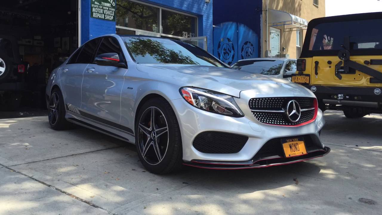 mercedes amg c43 sedan performance exhaust acceleration ride and crazy sound youtube. Black Bedroom Furniture Sets. Home Design Ideas
