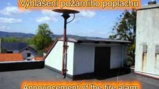 siréna - požární poplach / siren - fire alarm