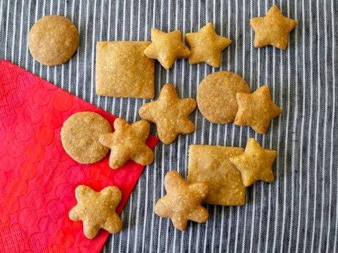 Recipes for Children: How to Make Whole Wheat Goldfish Cheese Crackers - Weelicious