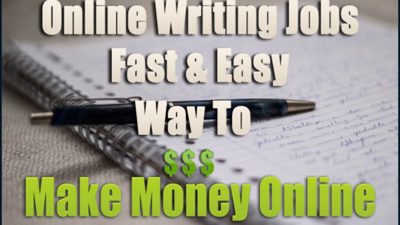 Get Paid to Write Articles Online