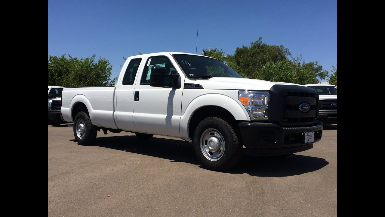 2015 Ford F-250 SuperCab Walkaround - YouTube