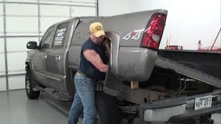 Pt.1 2007 Chevy Pickup Fuel Pump Replacement At D-Ray