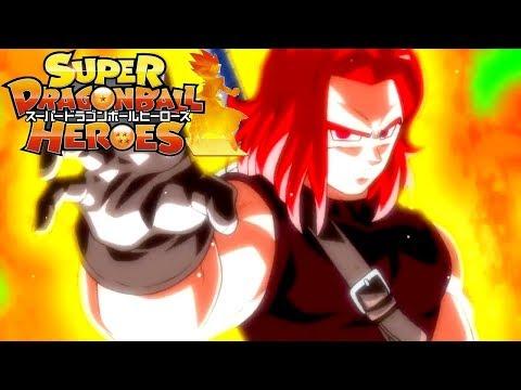 SUPER DRAGON BALL HEROES SSJ GOD TRUNKS