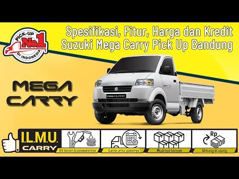 Spesifikasi, Fitur, Harga Dan Kredit Suzuki Mega Carry APV Pick Up Bandung 2019