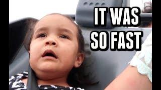THE FASTEST RIDE IN DISNEY WORLD! -  ItsJudysLife Vlogs