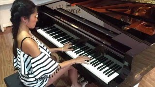 Van Anh Nguyen - Piece by Piece Kelly Clarkson Piano Cover
