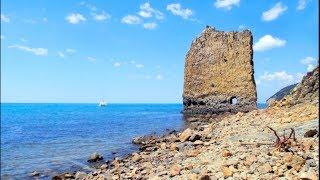 Прасковеевка. Жильё, море, пляж, цены, скала парус, прогулка. (Папа Может)