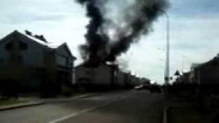 """Первый пожар в """"Лесной поляне"""" г.Кемерово"""