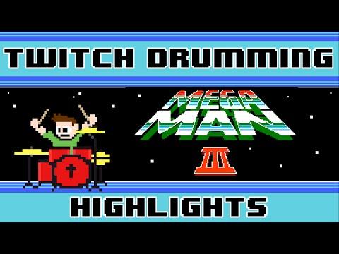 Mega Man 3 OST (Drum Cover) -- The8BitDrummer