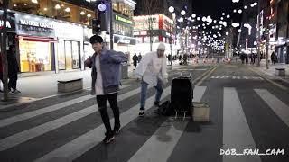 180127 디오비 DOB 성열&효진 신촌공연 / BIGBANG(빅뱅) - bangbangbang(뱅뱅뱅)