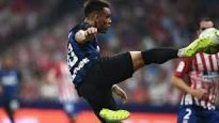 ATLETICO MADRID - INTER 0-1 GOL INCREDIBILE DI LAUTARO MARTINEZ