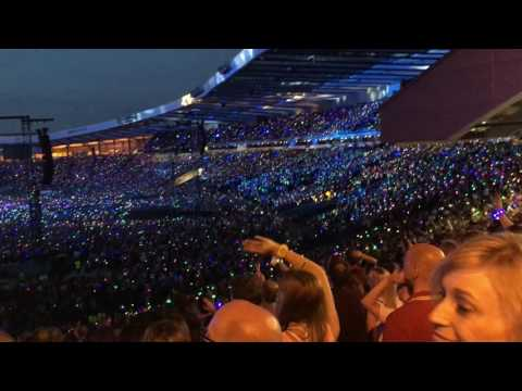 Coldplay  Up and Up Hampden Park, Glasgow 07062016