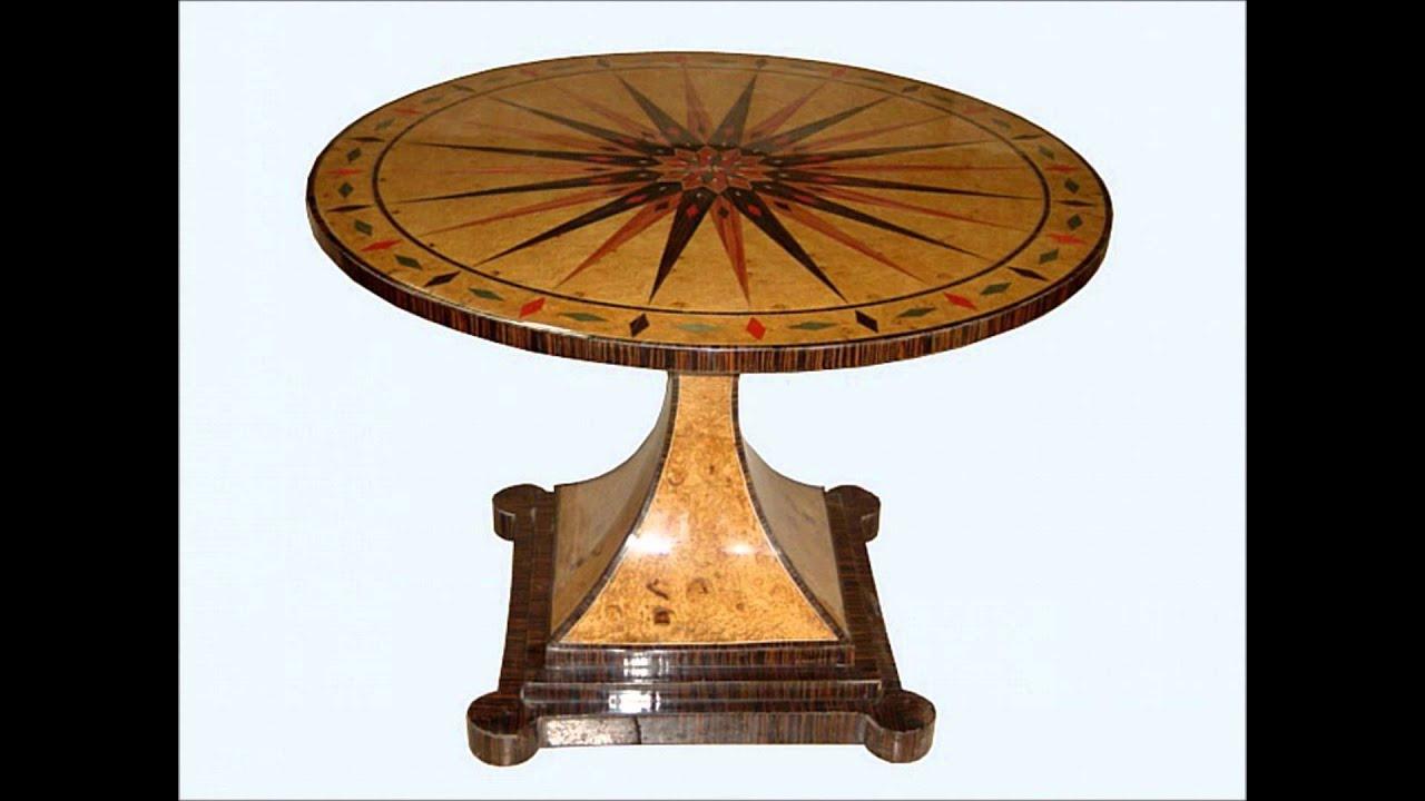 Antike Möbel Biedermeier Online Biedermeier Tische Youtube