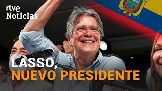 ECUADOR: GUILLERMO LASSO gana las elecciones presidenciales | RTVE Noticias
