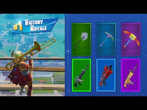i tried the random pickaxe challenge in fortnite... (so annoying)
