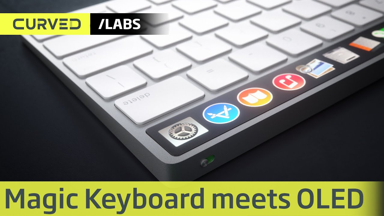 020c6ea5509 CURVED/labs: Apple Magic Keyboard meets OLED ⊂·⊃ CURVED.de