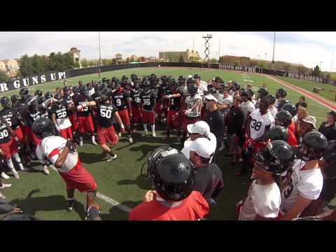 Texas Tech Football Dance Off 4.10.14