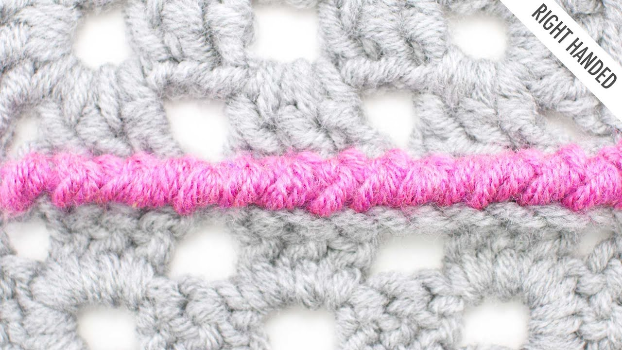 Reverse Single Crochet : The Reverse Single Crochet Seam :: Crochet Tip #26 - YouTube
