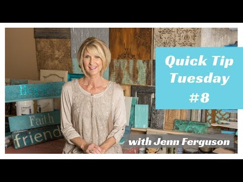 Easiest Way to Clean Your Decorative Rollers | #JennsQuickTipTuesday