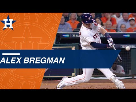 Bregman puts glove and power on display in ALDS