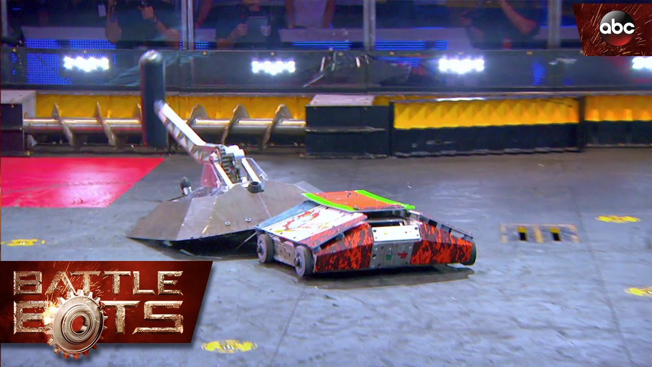 beta vs lucky battlebots youtube