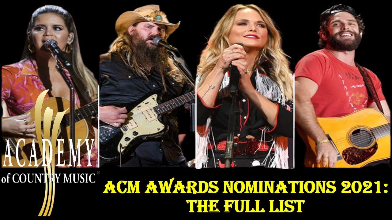 ACM Awards 2021: Who's performing? Here's a list of artists and ...